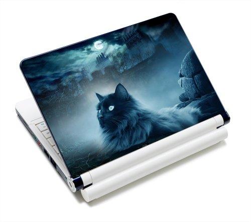 Luxburg Design Sticker Protective Film Skin Sticker for Notebook Laptop 10/12/13/14/15 Inch, - Cat And Rocks