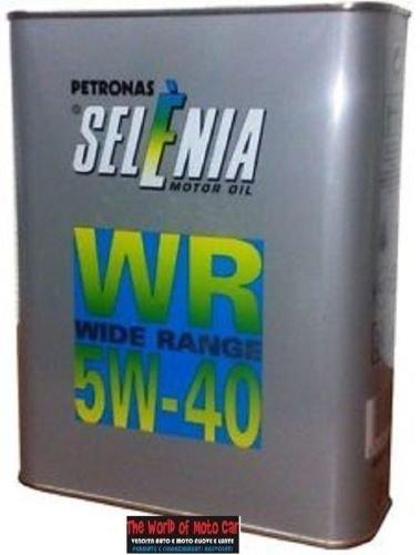 Selenia Motorenöl 3Kanister zu 2l Petronas WR Wide Range für Diesel 5W-40.