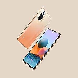 """Xiaomi Redmi Note 10 Pro - Smartphone 6+64GB, 6,67"""" AMOLED DotDisplay de 120 Hz, Snapdragon 732G, 108 MP Cámara cuádruple, 5020 mAh, Bronce Gradiente (versión ES)"""