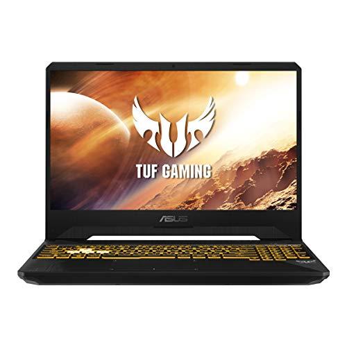 "ASUS TUF A15 FX506LH-BQ034 - Ordenador portátil Gaming 15.6"" FullHD (Intel Core i5-10300H, 16GB RAM, 512GB SSD, NVIDIA GTX1650-4GB, Sin sistema operativo)Negro Hoguera-Teclado QWERTY español"