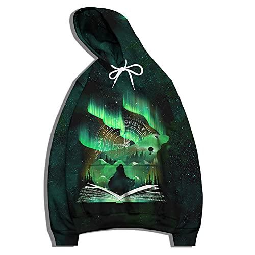 SSBZYES Sudadera para Hombre Camiseta De Manga Larga Sudadera con Capucha Suéter De Gran Tamaño Negro Gris...