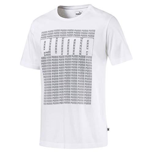 Preisvergleich Produktbild PUMA Herren Wording Tee T-Shirt,  White