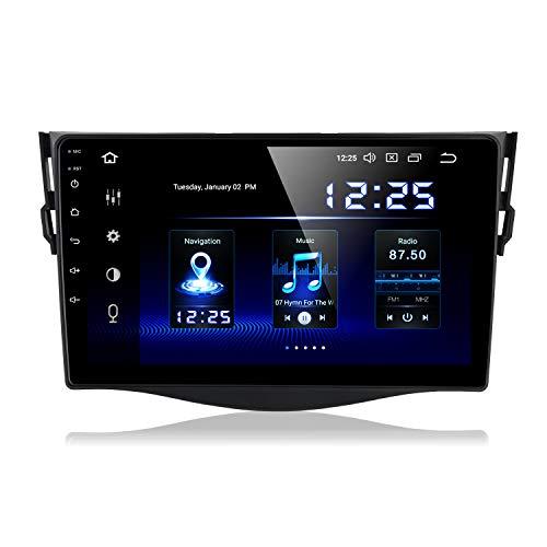 Dasaita 9' Android 9.0 Autoradio Bluetooth Vivavoce per Toyota RAV4 RAV4 2009 2010 2011 2012 Stereo Auto con Schermo DSP 4G RAM 64G ROM GPS DAB+ Carplay USB Wifi Controllo del Volante