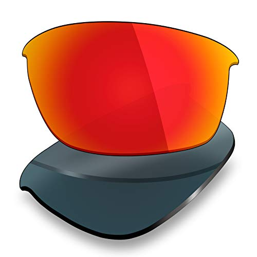 Mryok Polarized Replacement Lenses for Oakley Bottle Rocket - Fire Red