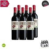 Coquelicot Syrah Rouge 2019 - Bio - Bruno Andreu - Appellation IGP Côtes Catalanes - Vin Rouge du Languedoc - Roussillon - Cépage Syrah - Lot de 6x75cl