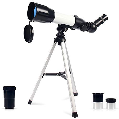 avis telescope debutant professionnel Achetez un télescope astronomique, un réflecteur manuel, une lentille de Barlow 360/50 mm, un grossissement 3x HD, un télescope…
