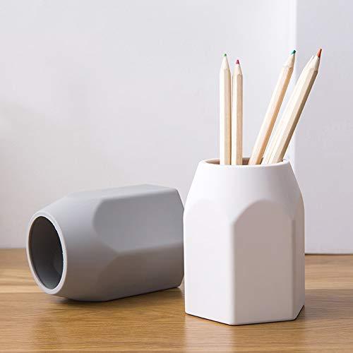 Xiaojie Recoger estudiante papelería creativa para contenedor simple color sólido pluma bolsa almacenamiento bolsa 20 cm × 20 cm × 20 cm × 20 cm