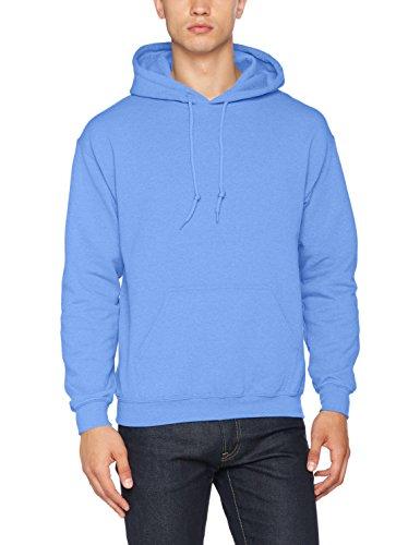 Gildan Heavyweight Hooded Sweatshirt Sudadera con Capucha, Azul (Carolina Blue), S para Hombre