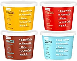 RXBAR, RX A.M. Oats, Variety Pack, 12ct, 2.18oz Cups, 12 Gluten Free Oatmeal Cups