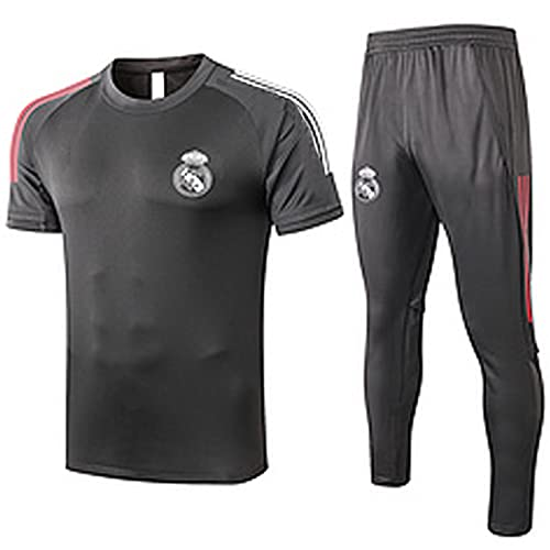 QZZQ Jersey de fútbol 2021 Reǎl MǎDrid Camisetas de Entrenamiento de fútbol para Hombre, Sudadera para Hombre Uniforme de los Deportes Ventilador de Deportes Deportes jue S