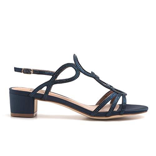 bibi lou - Medium Heel Blue Sandals - 787Z85VK MARIN - 39