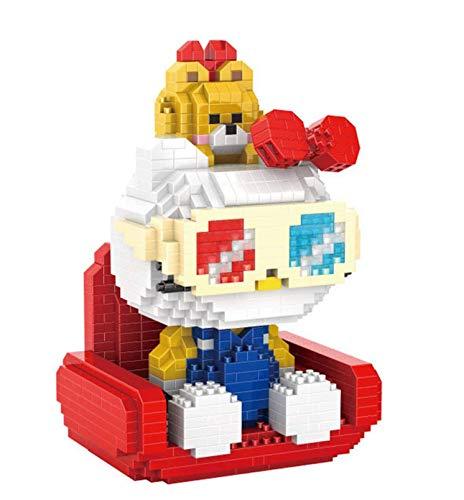 RSVT Micro Mini Blocks Cat Model Building Set, Mini Ziegel Spielzeug, Geschenk Für Erwachsene Und Kinder,C