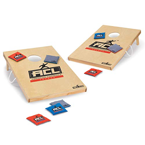 EastPoint Sports ACL Cornhole Set for Outdoor Games & Tailgate Fun; Bean Bag Toss - Includes Convenient Carry Bag for Portability and Storage, Green