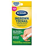 Dr. Scholl's Ingrown Toenail Pain Reliever, 0.3oz / Medicated Gel...