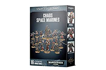 Games Workshop Warhammer 40,000 Start Collecting Chaos Space Marines