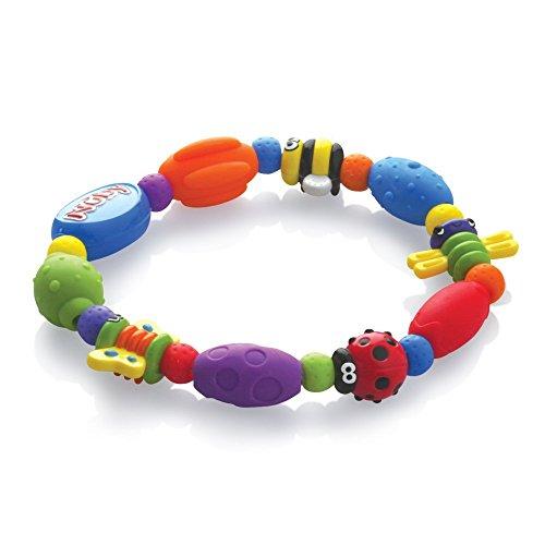 Nûby - Anneau de Dentition Rigide et Souple Bug-a-Loop™ - 3 Mois