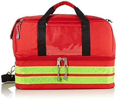 GIMA Life-2 Bag, Large, Red, emergency, trauma, rescue, medical, first aid, nurse, paramedic multi pocket bag, 47,5x33x30 cm by Gima