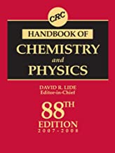 CRC Handbook of Chemistry and Physics, 88th Edition
