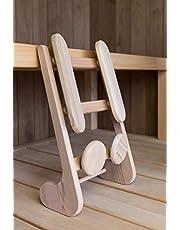 Halu ergonomische Sauna Rugsteun voor de (infrarood) sauna (Red Cedar)