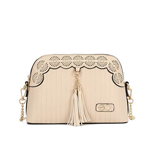 E2O Women's Sling Bag (Beige)