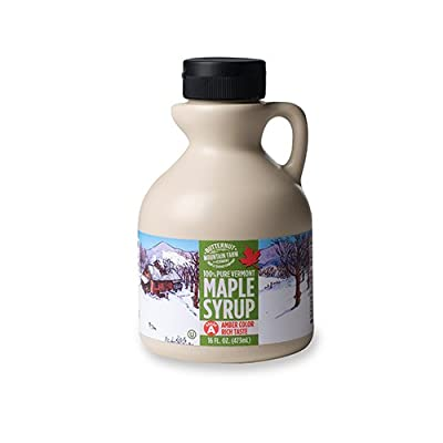 Butternut Mountain Farm 100% Pure Organic Maple Syrup Robust Taste, All Natural, Easy Squeeze