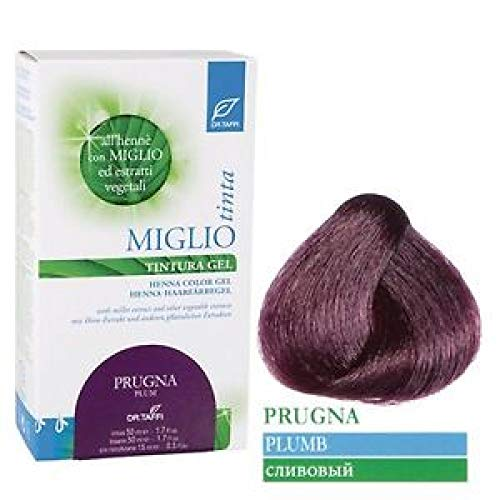 Dr. Taffi Miglio Tinta Plus (Pflaume) 115ml - Haarfarbe ohne Ammoniak