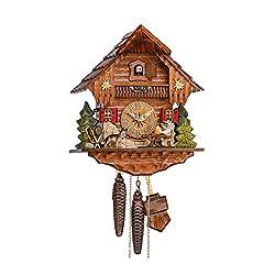 Sternreiter Cuckoo Clock 1248 Beer Drinker Black Forest Mechanical Cuckoo Clock