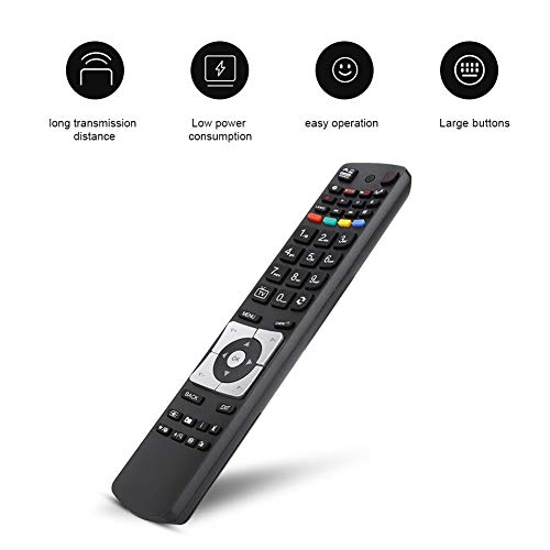 Universele tv-afstandsbediening vervangen, multifunctionele tv-afstandsbediening vervangen tv-controller voor HITACHI RC5117 voor Finlux 42f8075t voor BUSH RC5117 DLED32265HDCNTD