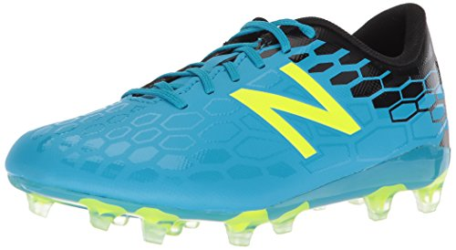 New Balance Boys' Visaro 2.0 Control JNR FG Soccer Shoe, Maldives/hi lite, 15 M US Little Kid