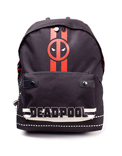 Marvel COMICS COMICS Deadpool Icon Print Solid Backpack, Multi-colour (BP510767DED) Rucksack, 28 cm, 20 liters, Mehrfarbig (Multicolour)
