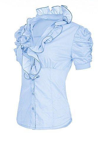 Laeticia Dreams–Maglietta a maniche corte, taglie S M L XL XXL XXXL Hellblau 48