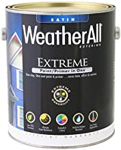 True Value Mfg WAES17-GL Premium Extreme Exterior Paint/Primer In One, Tudor Brown Satin, 1-Gal. - Quantity 2