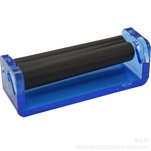 Zigarettenroller, 70 mm, aus Kunststoff, einfach manuell zu bedienen, für Herren, 1 Stück