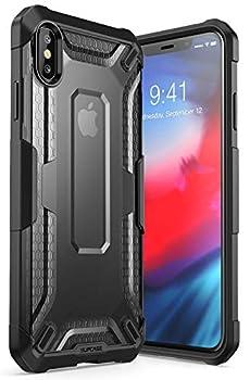 iPhoneXsMaxCase SUPCASE Unicorn Beetle Series Premium Hybrid Protective TPU and PC Clear Case for iPhoneXsMaxCase 6.5 Inch 2018 Release  Black