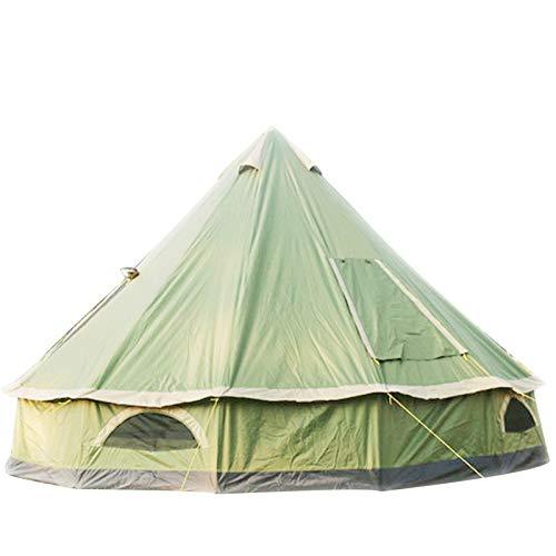 SFSGH Tienda de campaña de 4M, Tienda de campaña Yurt 210D Oxford India, Tienda de campaña Impermeable, Tienda de privacidad portátil para Acampar en Familia, Caza al Aire Libre