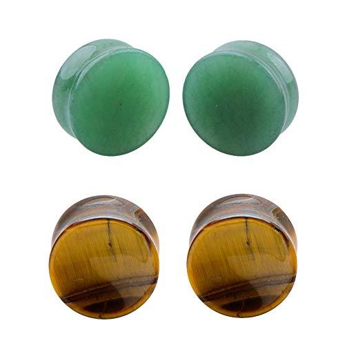0g jade plugs - 1
