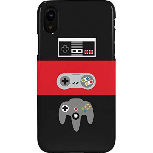 Skinit Lite Phone Case Compatible with iPhone XR - Originally Designed Nintendo Controller Evolution Design