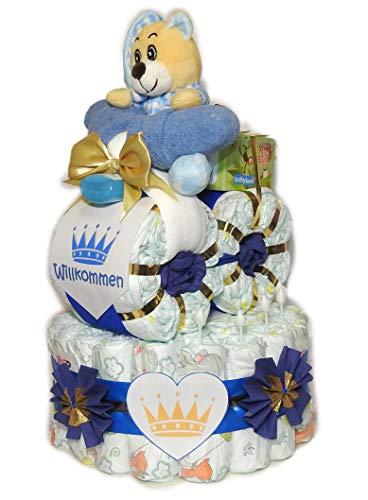 Pañales para tartas con moto–Prinz con oso–Pañales Moto