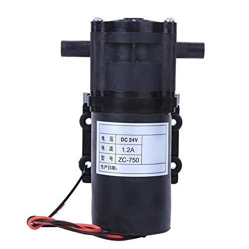 ZC-750 DC 24V zelfaanzuigende pomp Membraanpomp, hoge druk, laag geluidsniveau, laag energieverbruik, groot debiet Membraanwaterpomp, voor waterzuiveraar/vulmachine