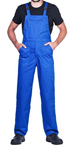Salopettes de travail pour hommes,bleu. Un produit avec un rapport exceptionnel prix/qualité - Bleu - Taille L