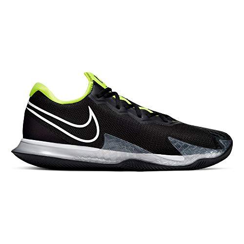 Nike Mens AIR Zoom Vapor CAGE 4 Cly Tennis Shoe, Black/White-Volt-Dk Smoke Grey, 42.5 EU