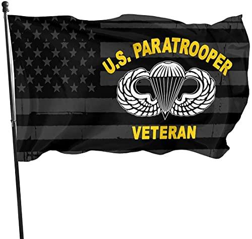 'N/A' SBLB 82nd Airborne Division US Paracaidista Ejército Veterano Banner Brisa Banderas al aire libre Bandera de casa Bandera de jardín 3' X 5' pies