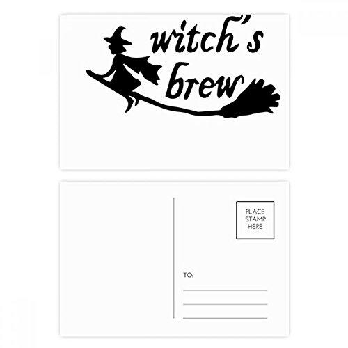 DIYthinker Engels Quote Ontwerp Heks Brew Postcard Set Verjaardag Thanks Card Mailing Side 20 stks 5.7 inch x 3.8 inch Multi kleuren
