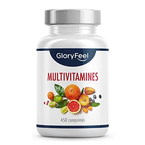 Multivitamines et Minéraux - 450 Comprimés (15 Mois)...