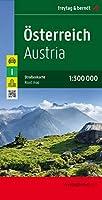 Austria, Folded West Road Map 1:300 000