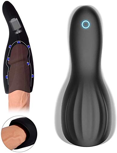 Automatical Electric Suck Toys Male Endurance Prolonging Toy Men's Delay Trainer Enlargement Augmentation Tool Pleasure, 10 Speeds Vibrant Sucking Device