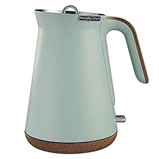 Morphy Richards Aspect Cork Kettle Electric Kettle, Mint, 100015 (B0814PCHL5)   Amazon price tracker / tracking, Amazon price history charts, Amazon price watches, Amazon price drop alerts