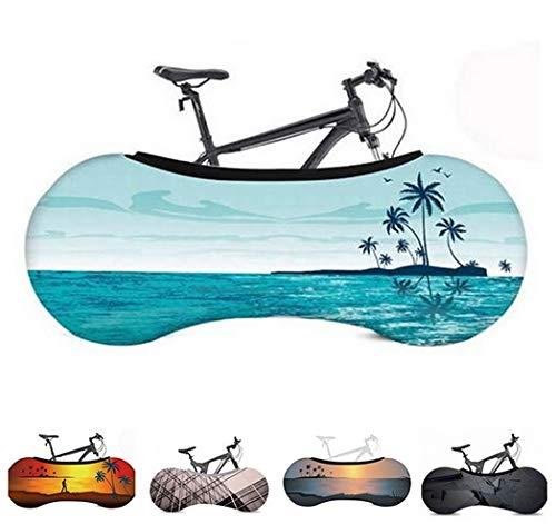 PROBIKE Funda Universal de Bicicletas para Almacenamiento en Interiores (Beach)
