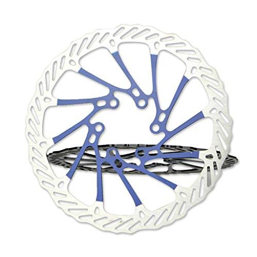 WT-DDJJK Rotor de Bicicleta, rotores de Bicicleta de 160 mm MTB Bicicleta de Carretera Ciclismo G3 Rotor de Frenos de Disco con 6 Manchas