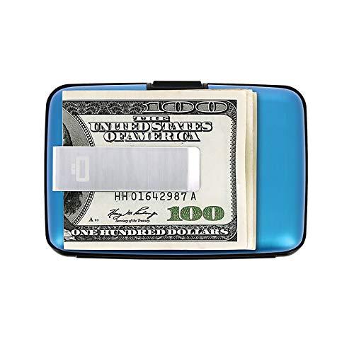 Ögon Smart Wallets - Stockholm Card Holder + Money Clip - RFID Protection:...